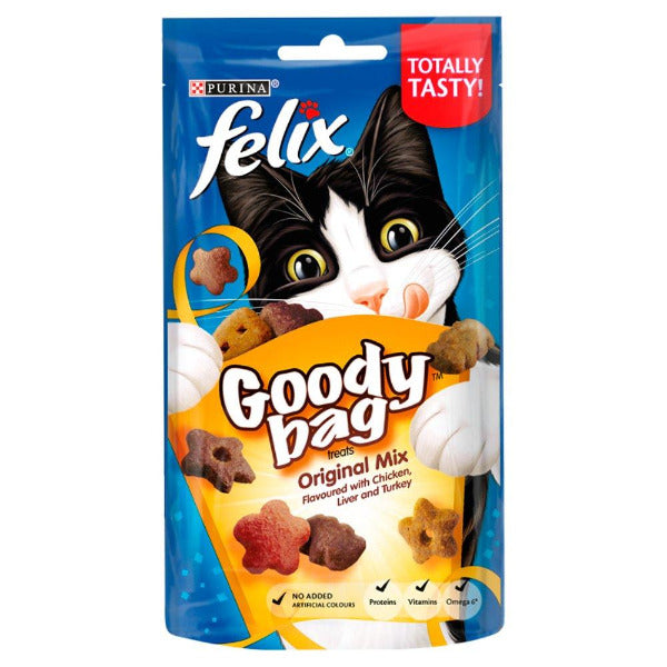 Felix Goody Bag Cat Treats Original Mix 60gm