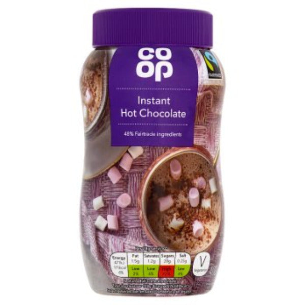 Coop Fairtrade Instant Hot Chocolate 400gm