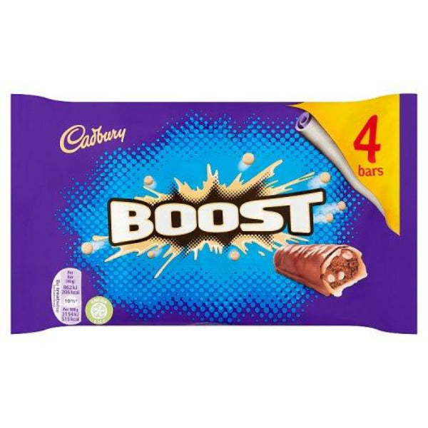 Cadburys Boost 4 Pack