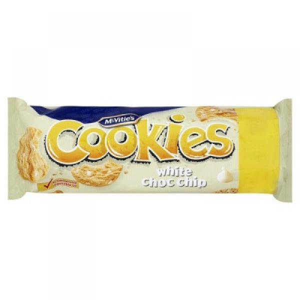Mcvities White Choc Chip Cookies 150gm