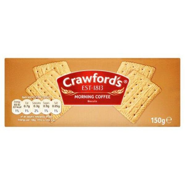 Crawfords Morning Coffee 150gm