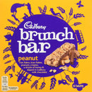 Cadburys Brunch Bars Peanut 6 pk