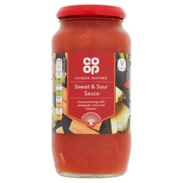 Coop Chinese Inspired Sweet & Sour Sauce 515gm