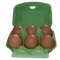 Free Range Eggs Locally Sourced 1/2 Dozen
