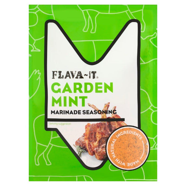 Flava it Garden Mint Marinade 35gm