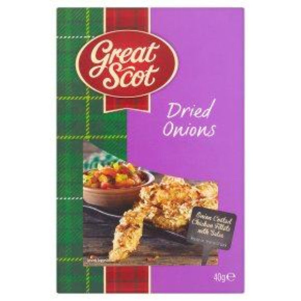 Great Scot dried Onions 40gm