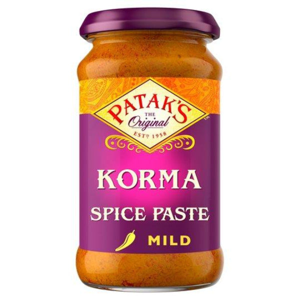 Pataks Mild Korma Curry Paste 290gm