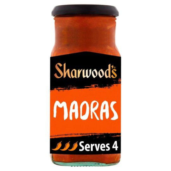 Sharwoods Madras Curry Sauce 420gm