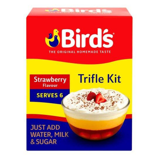 Birds Trifle Kit Strawberry 141gm