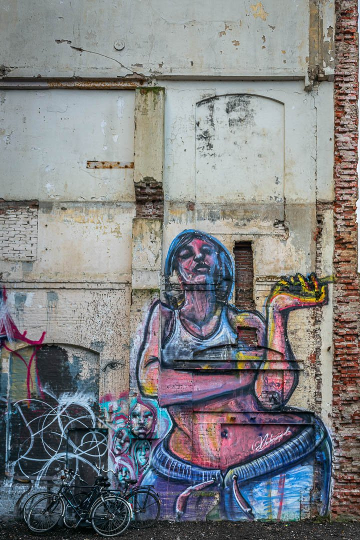 Graffiti in Groningen - Bram Art Photography