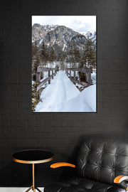 Snowy Mountain - Bram Art Photography