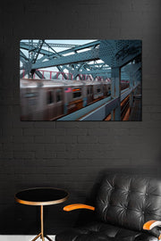 Speeding Subway - Bram Art Photography