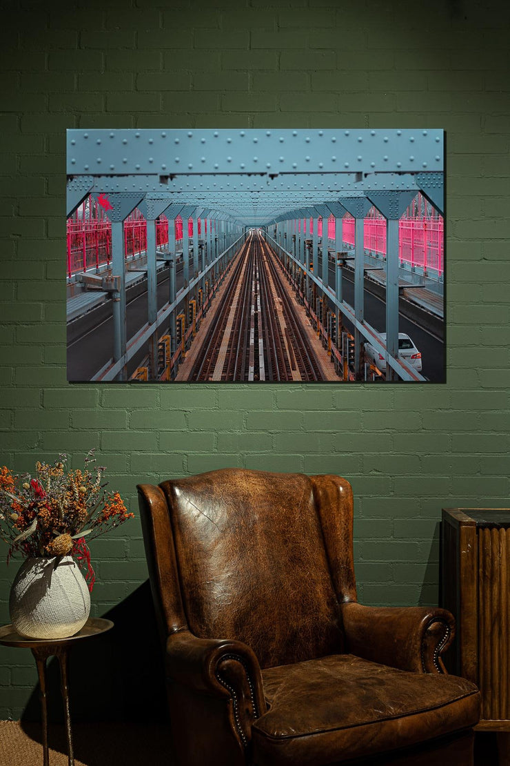 N.Y. Subway Tracks - Bram Art Photography