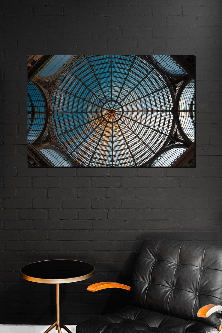 Glass Roof in Napels - Bram Art Photography