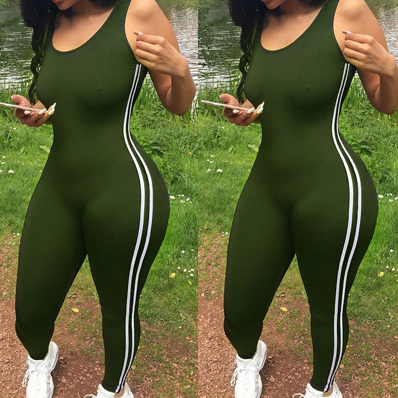 Sports Jumpsuit Gym- In Stock