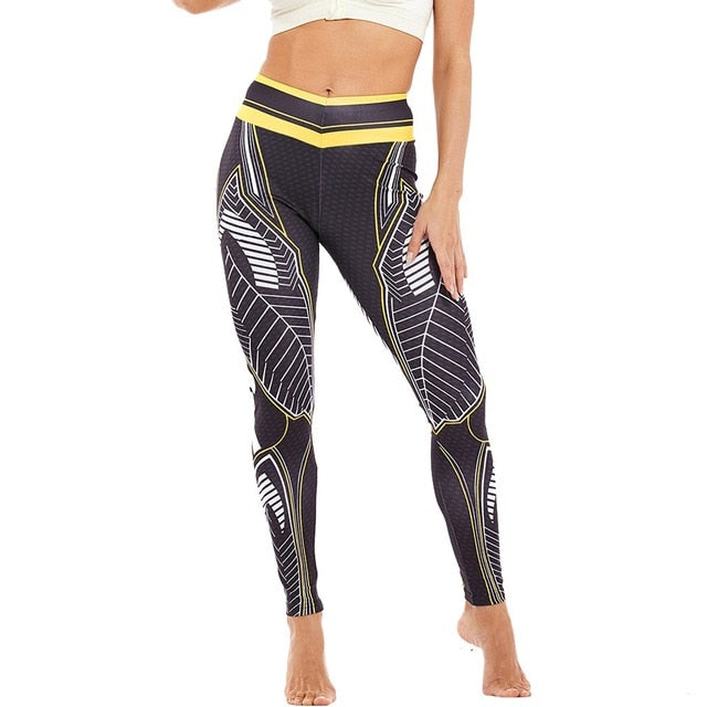 High Waist Fitness Leggings Workout
