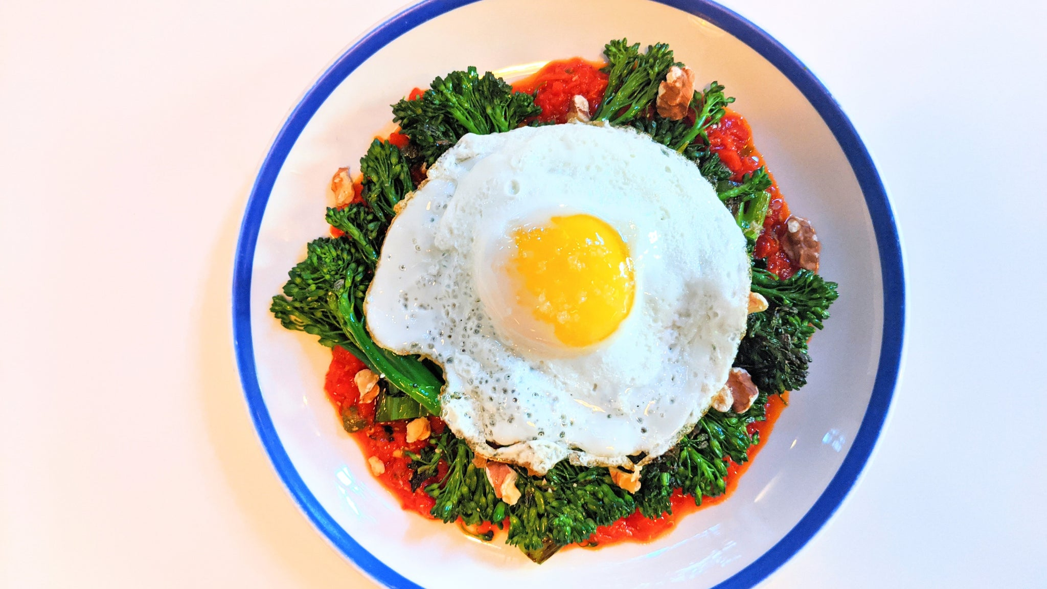 <i>Pairing Recipe</i> — Chef Harry Cho's Sauteed Broccolini with Roasted Red Pepper Sauce