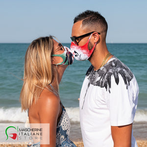 OSMANY JUANTORENA mask for ASSOCIATION GIACOMO SINTINI washable with interchangeable filter