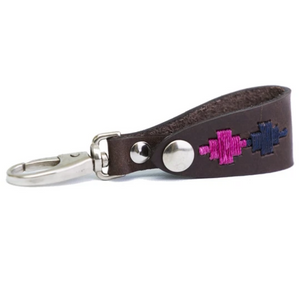 Key Holder - Berry/navy