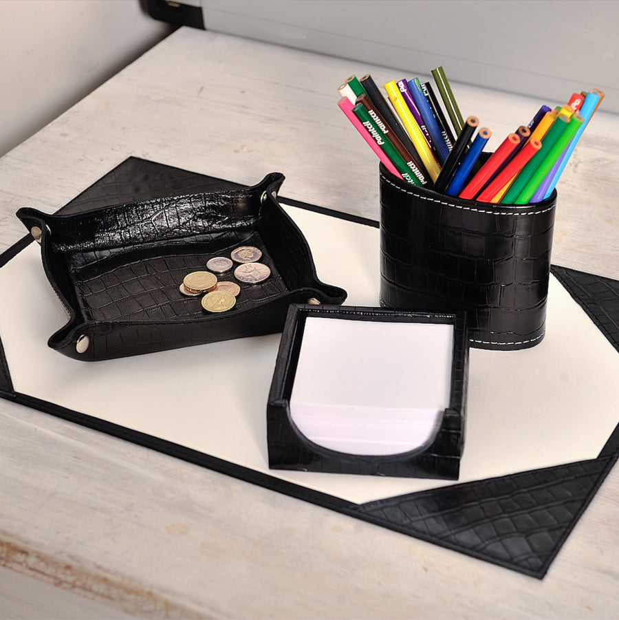 Notepad Holder - Black