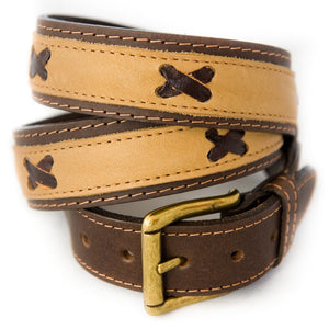 Nubuk belt - Brown