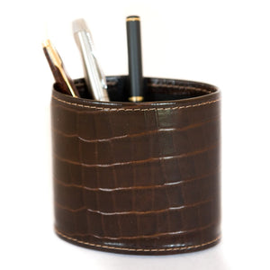Pen Holder - Brown