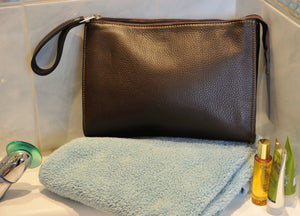 Travel Washbag - Chocolate