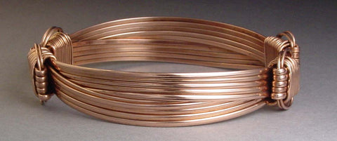 Lightweight Bracelet Copper 5-strand