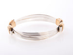 Lightweight Bracelet Two-Tone 5-strand