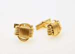 14Kt Solid Gold Cuff Links