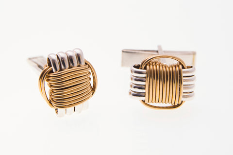 Two-Tone Cuff Links