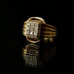 Ring 14KT Solid Gold with Diamonds