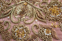 Ekta Solanki Lengha ~ Grey Floral Thread Work ~ WAS £1,550 NOW £420