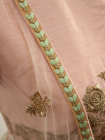 Ekta Solanki Lengha ~ Green Floral Thread Work ~ WAS £1,550 NOW £420