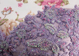 Ekta Solanki Lengha ~ Lavender Banarsi Beaded Corset ~ WAS £3,250 NOW £740