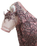 Ekta Solanki Dress ~ Wisteria and Lilac Organza Lace ~ WAS £2,350 NOW £385