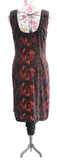 Ekta Solanki Suit ~ Black and Red Rose Print  ~ WAS £380 NOW £150