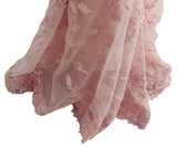 Ekta Solanki Saree and Blouse ~ Baby Pink Thread and Beaded Net ~ WAS £925 NOW £380