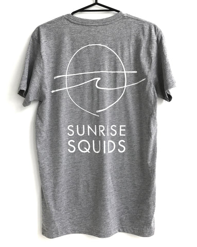 SUNRISE SQUIDS T-SHIRT GREY