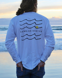 SUNRISE SQUIDS LONG SLEEVE T-SHIRT