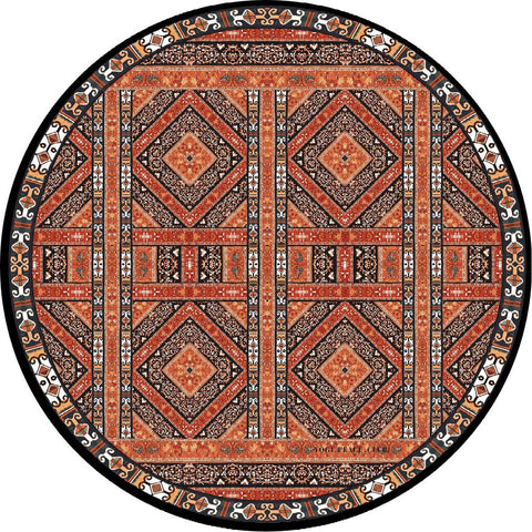 EARTH YOGI ROUND YOGA MAT
