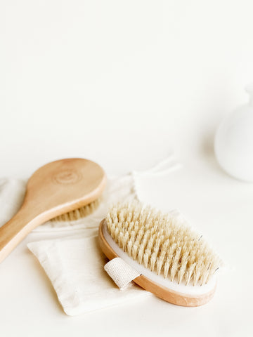 Dry Brush for Glowing Skin