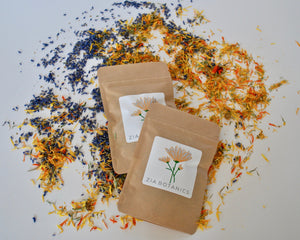 Calendula and lavender tea