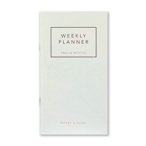 WEEKLY PLANNER - 3 Farben