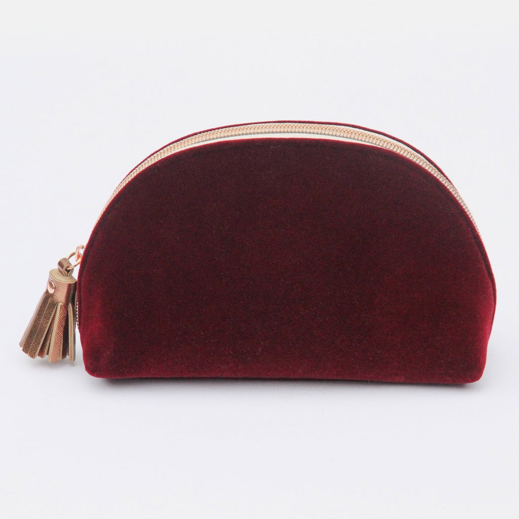 HALF MOON COSMETIC BAG