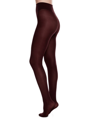OLIVIA TIGHTS BORDEAUX