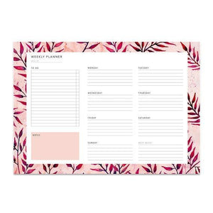 WEEKLY PLANNER – SUMMER LEAVES