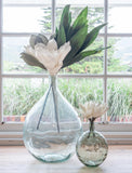 16 Inch Wide Mouth Glass Vase