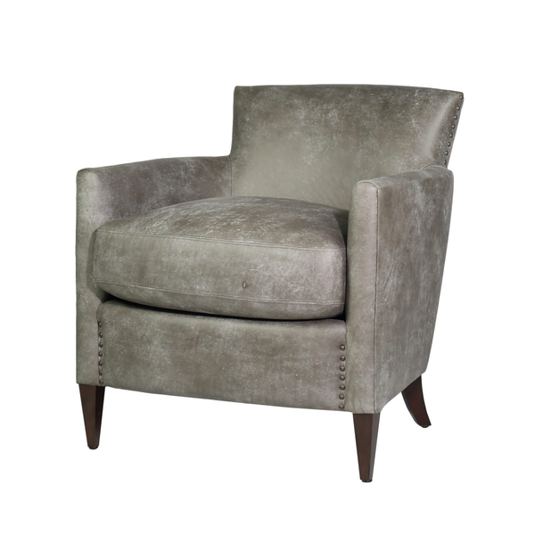 Clement Chair - Pewter