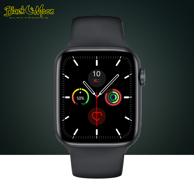 🌈 iSmartWatch - W26 - Black Moon Electronics